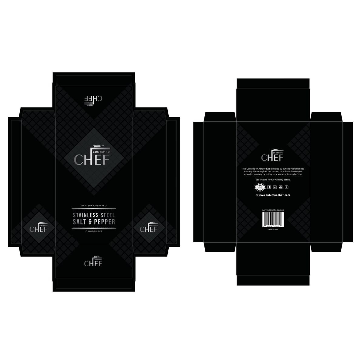 CONTEMPO CHEF - Printing supplier requesting small change