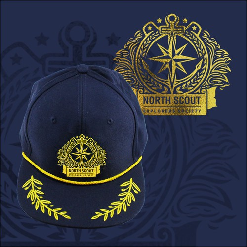 Logo Design for North Scout Captain's Hat