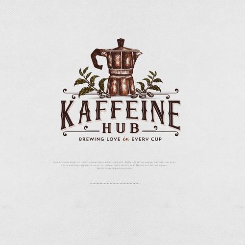 Logo for Kaffeine Hub