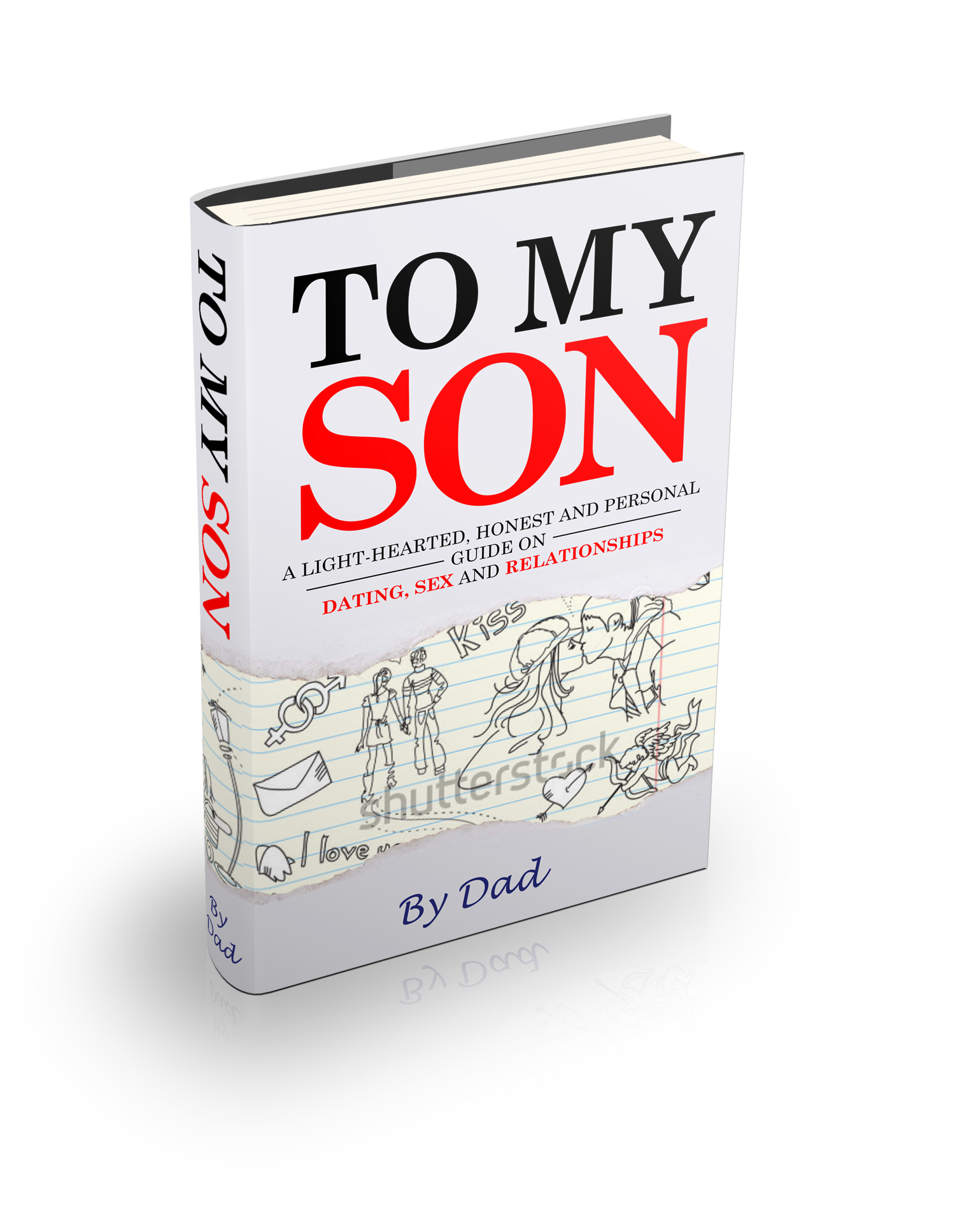 """Create a coverpage for my eBook """"To My Son."""""""