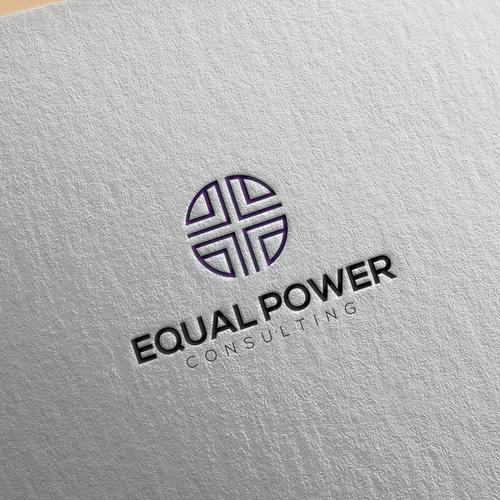 logo concept for equal power