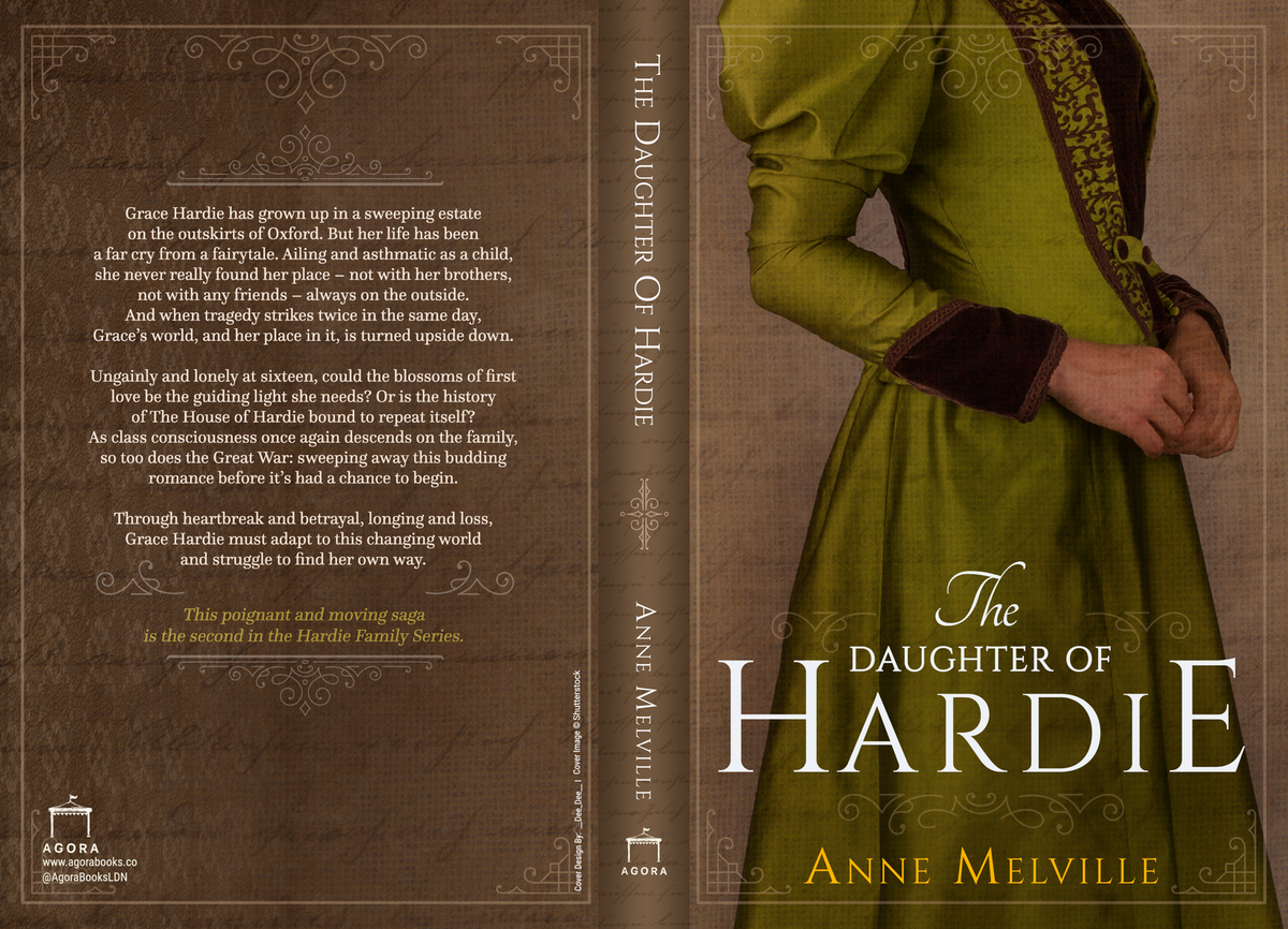 The Daughter of Hardie eBook + Paperback Cover