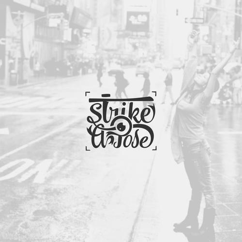 Retro Style Photography Logo