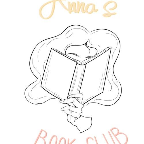 Logo for a Book Club
