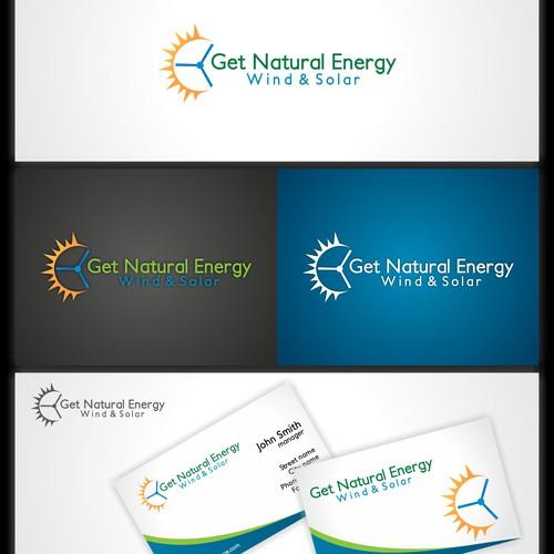 Logo for Get Natural Energy Wind & Solar