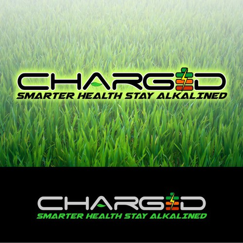 Create a POWERFUL and ENERGIZED logo for Charged Energy Drink!