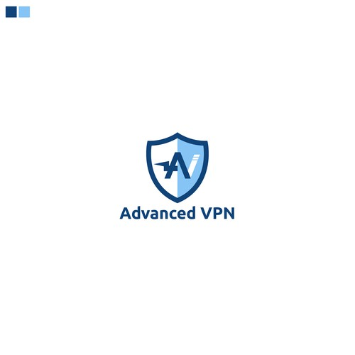 Logo concept for Advance VPN