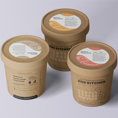Packaging for Small-batch Whole Dog Food