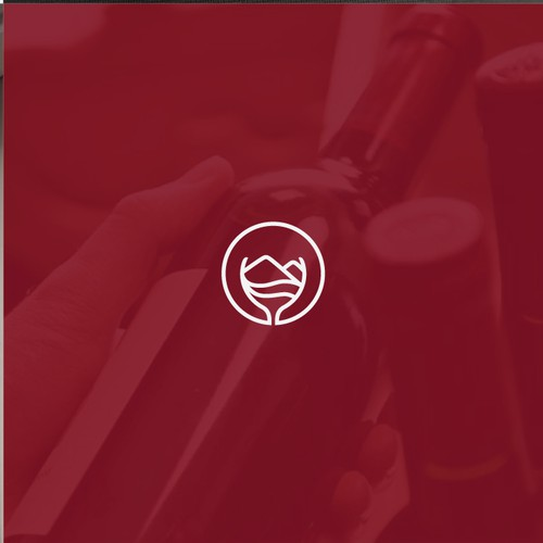 Design unique logo high end wine distributor