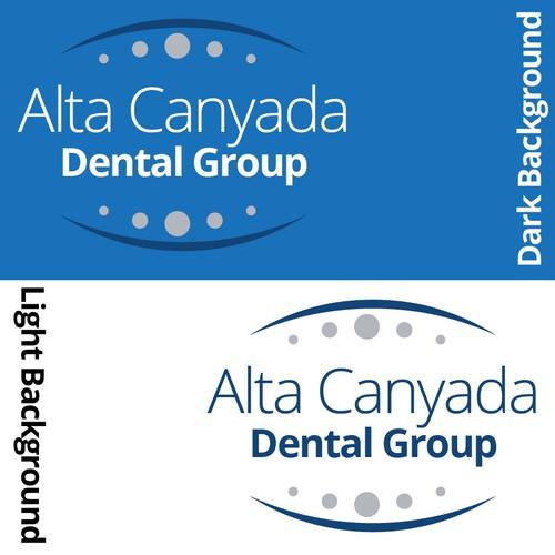 Alta Canyada Dental Group Concept Logo