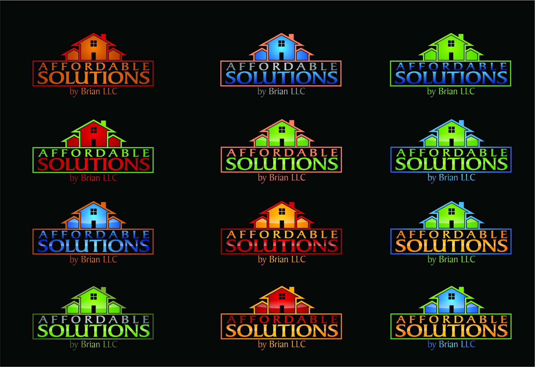 Affordable Solutions by Brian, LLC needs a new logo