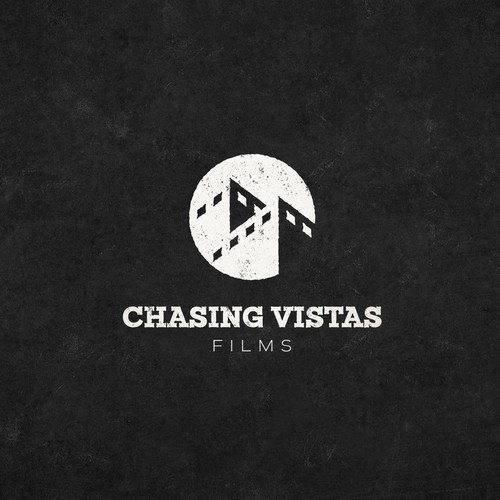 Creative logo for Chasing Vistas Films