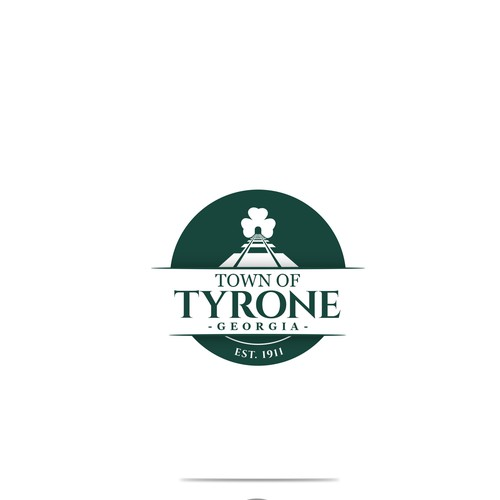 Logo design for the town of Tyrone