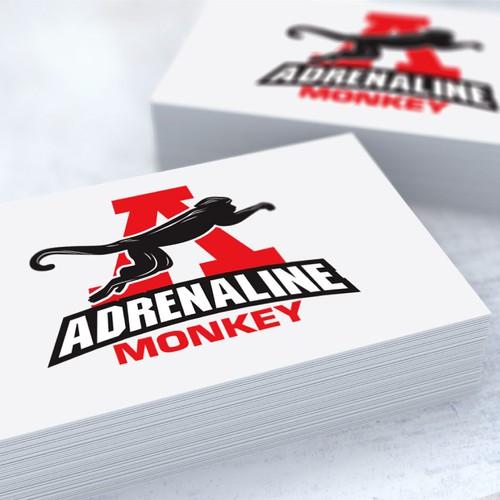 Adrenaline Monkey needs a kick-a$$ logo!