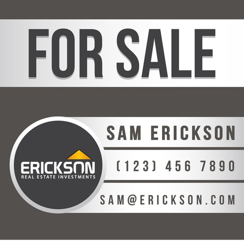 New signage wanted for Erickson Real Estate Investments