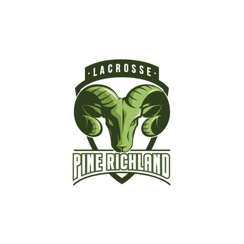 Pine Richland Lacrosse - Logo Design