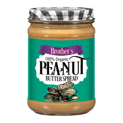 create a product label for the strongest jar of Peanut Butter in America