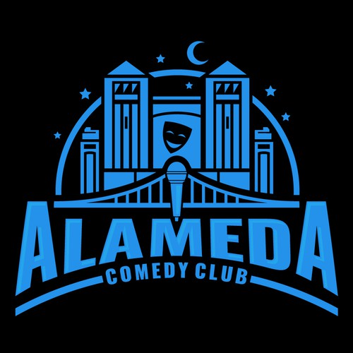 Logo for Alameda Comedy Club