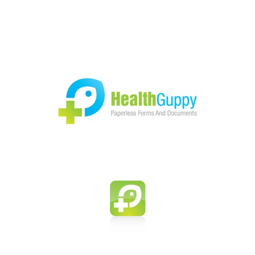 logo for Health Guppy