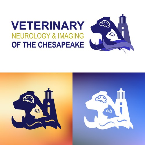 Logo design for Veterinary Neurology and Imaging of the Chesapeake