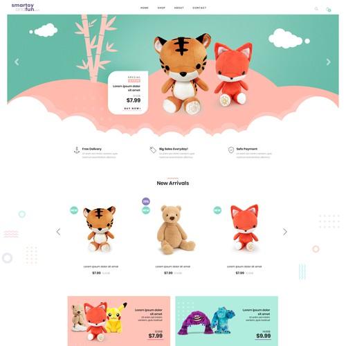 Toys eCommerce Website
