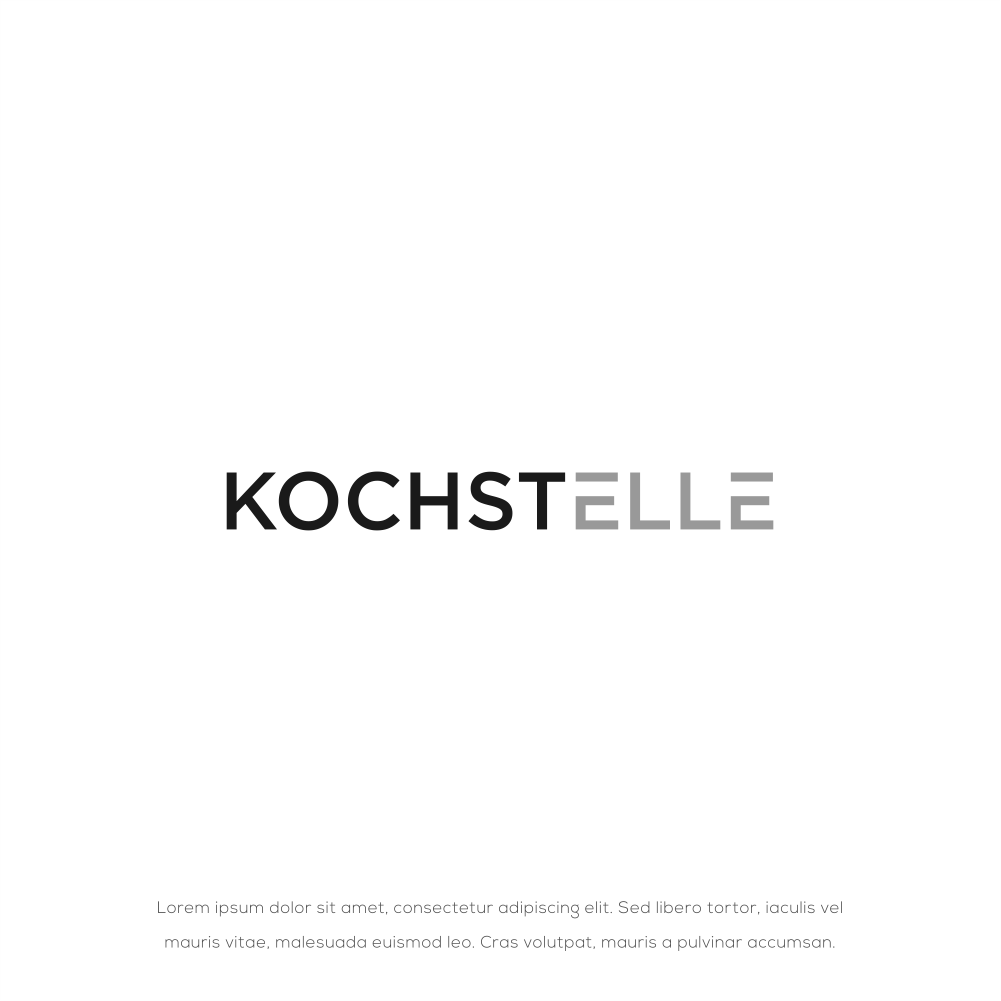 Modern logo for Kitchen products - winner posibility make packing