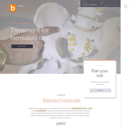 Herniated Disc Therapy Website