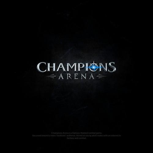 Logo for mobile fantasy game (finalist entry)