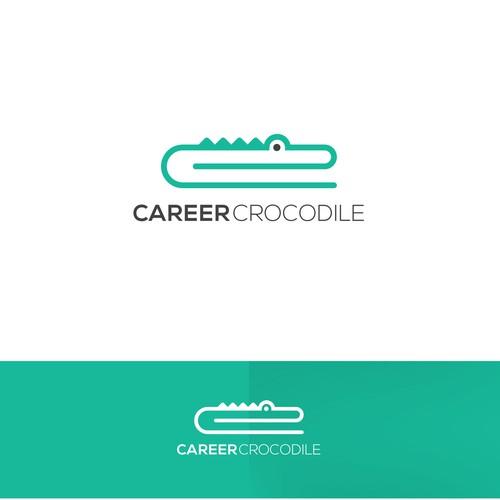 Logo concept for Career Crocodile