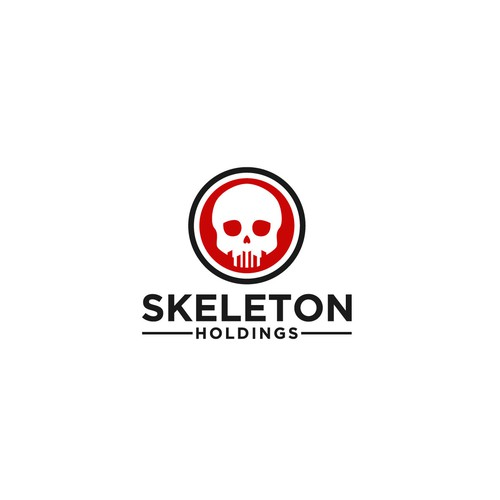 logo concept for skeleton holdings