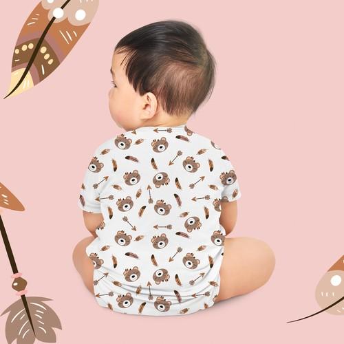 Boho fabric for Kids clothes