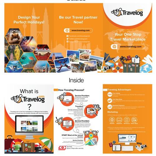 Travelog booklet