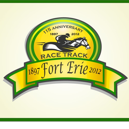 Fort Erie Race Track needs a celebratory logo for its 115th anniversary of business
