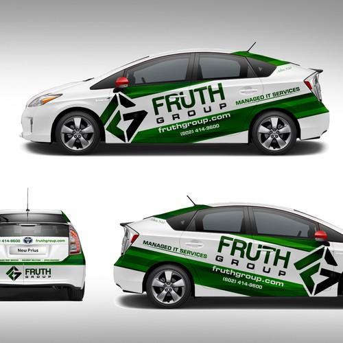 Wrap Design for Toyota Prius