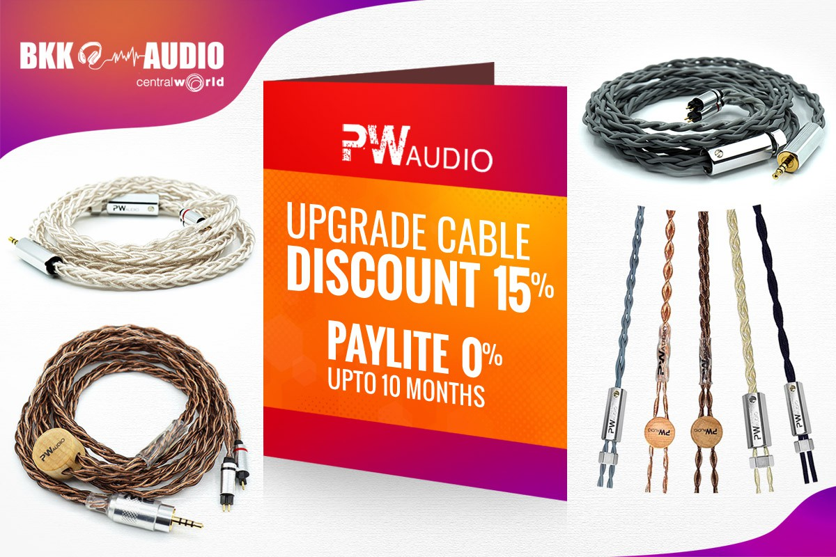 Banners ads for our PWaudio cable discount 14% and PayLite 0% upto 10 months