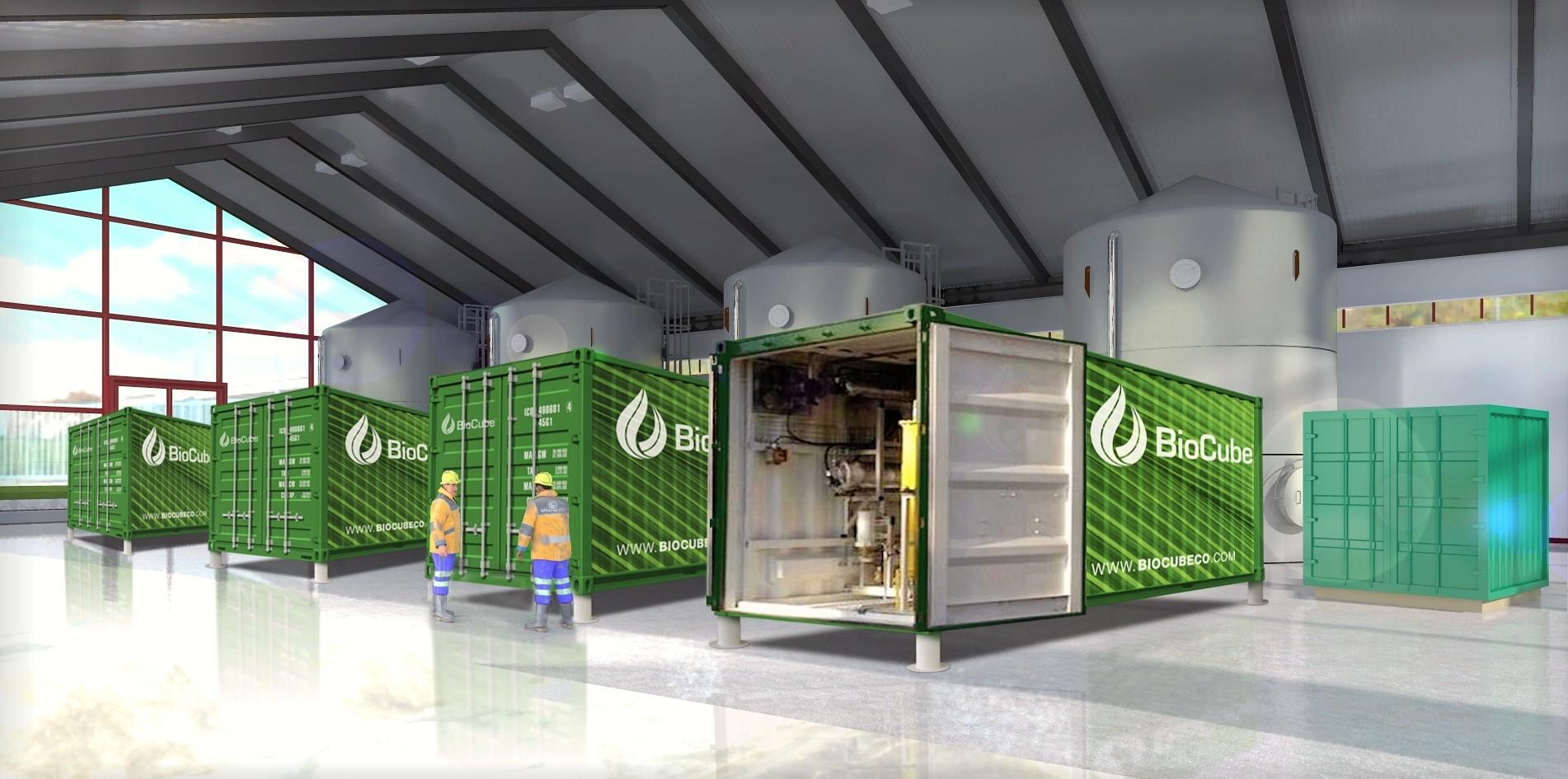 BioCube Plant 3-D Graphic
