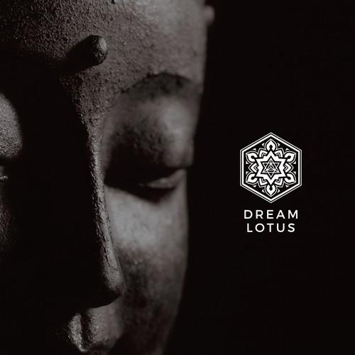 Mandala logo design for Dream Lotus