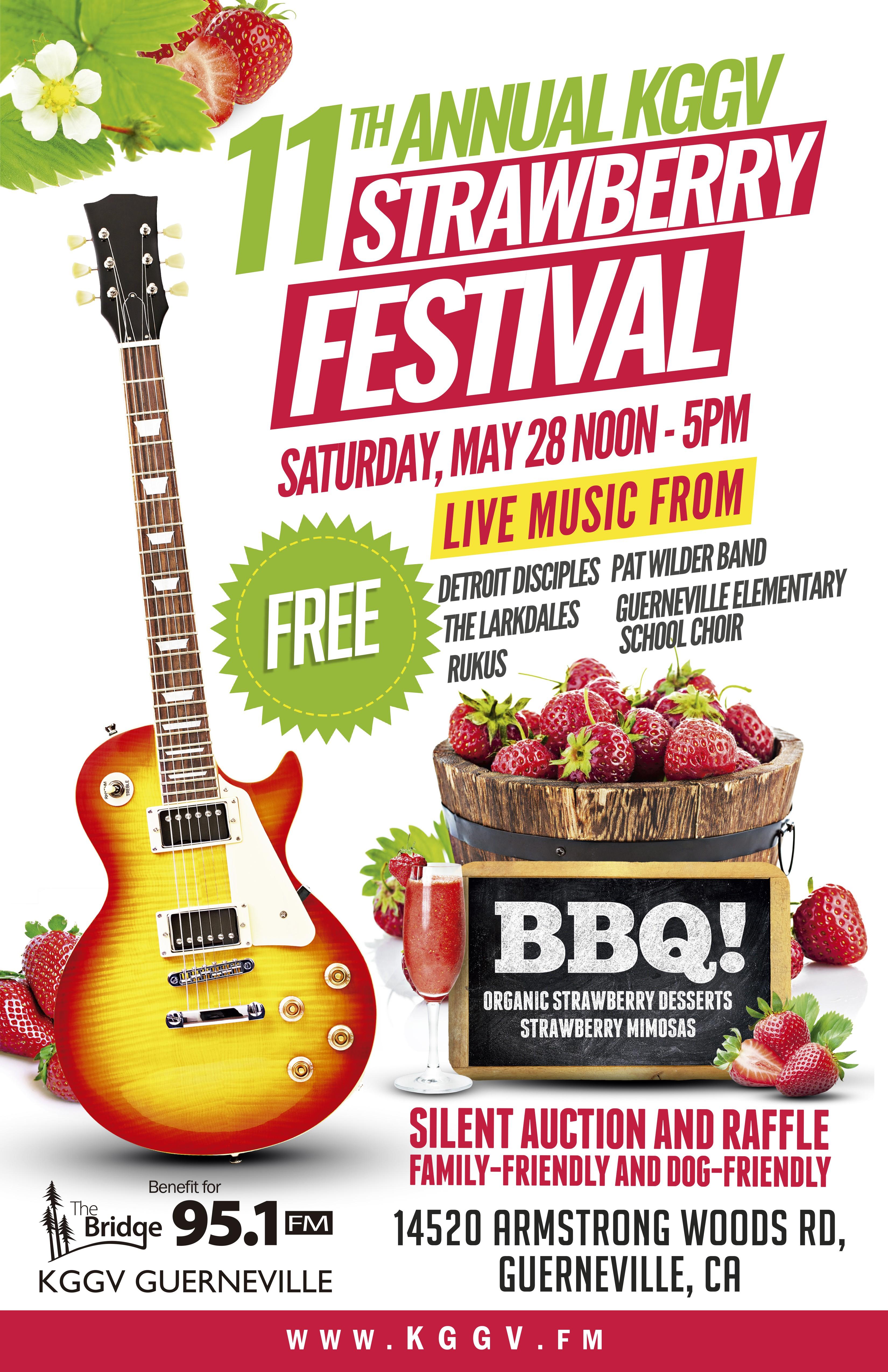 KGGV Strawberry Festival Poster