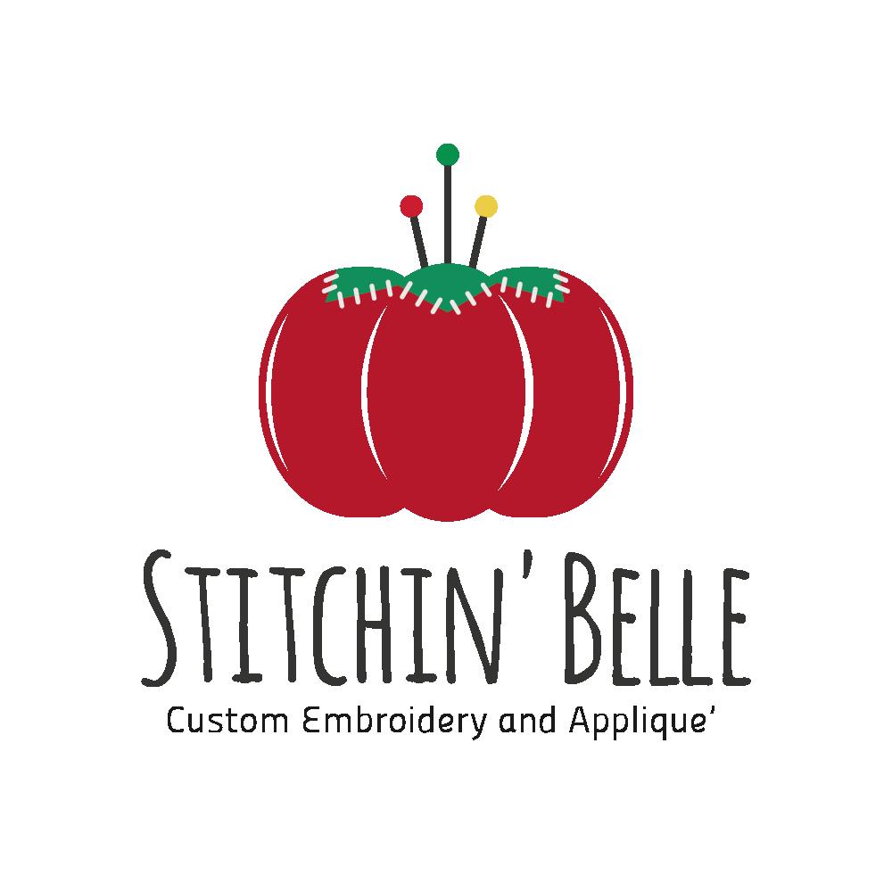 Design a vintage logo for Stitchin' Belle