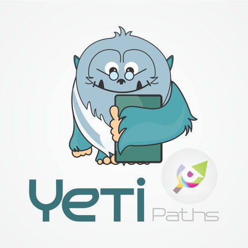 Yeti Paths - Creating a software startup logo