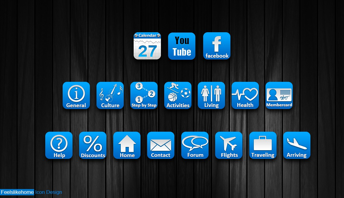 New buttons or icons wanted for Feelslikehome