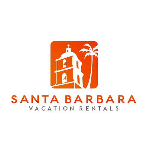 Logo concept for St. Barbara Vacation Rentals