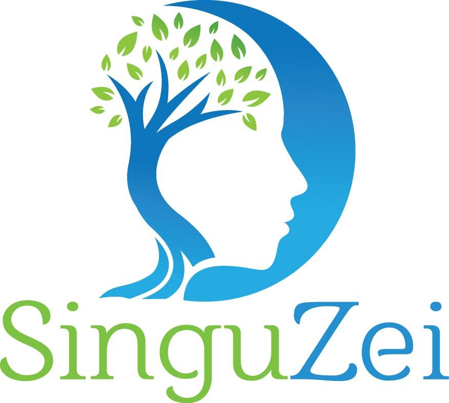 Minimalist Meditative Mind in Cosmos Logo