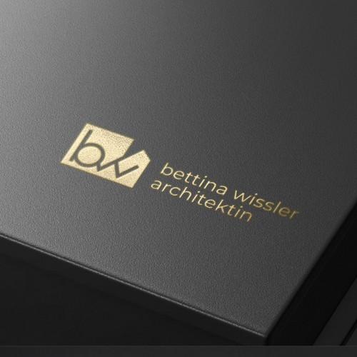 bw + house logo concept
