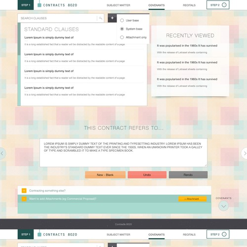 Boring web service needs a sexy interface!