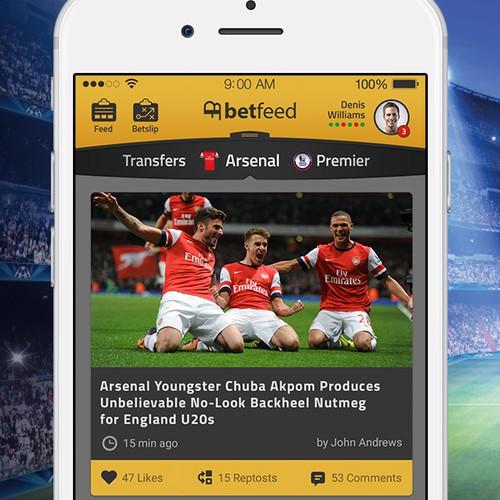 Football social app