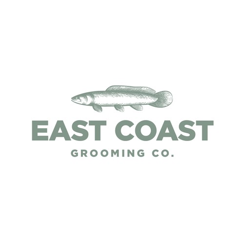 Logo for a male grooming company.