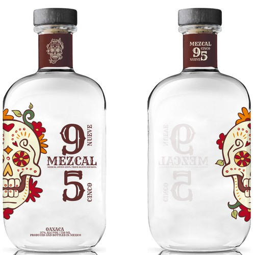 New Bottle and Label design wanted for Mezcal 9 5