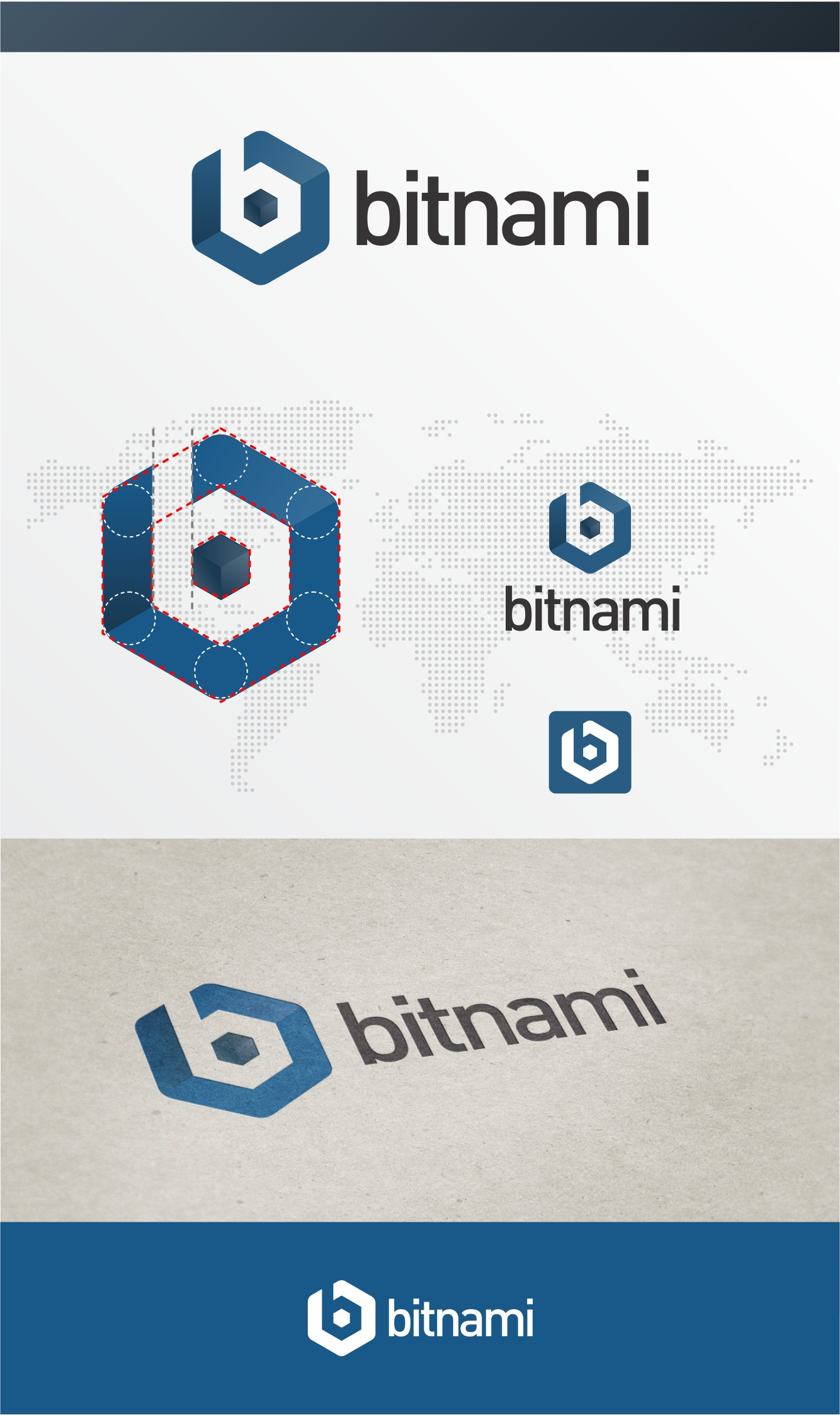 Create a logo for Bitnami and reach millions of developers and web designers