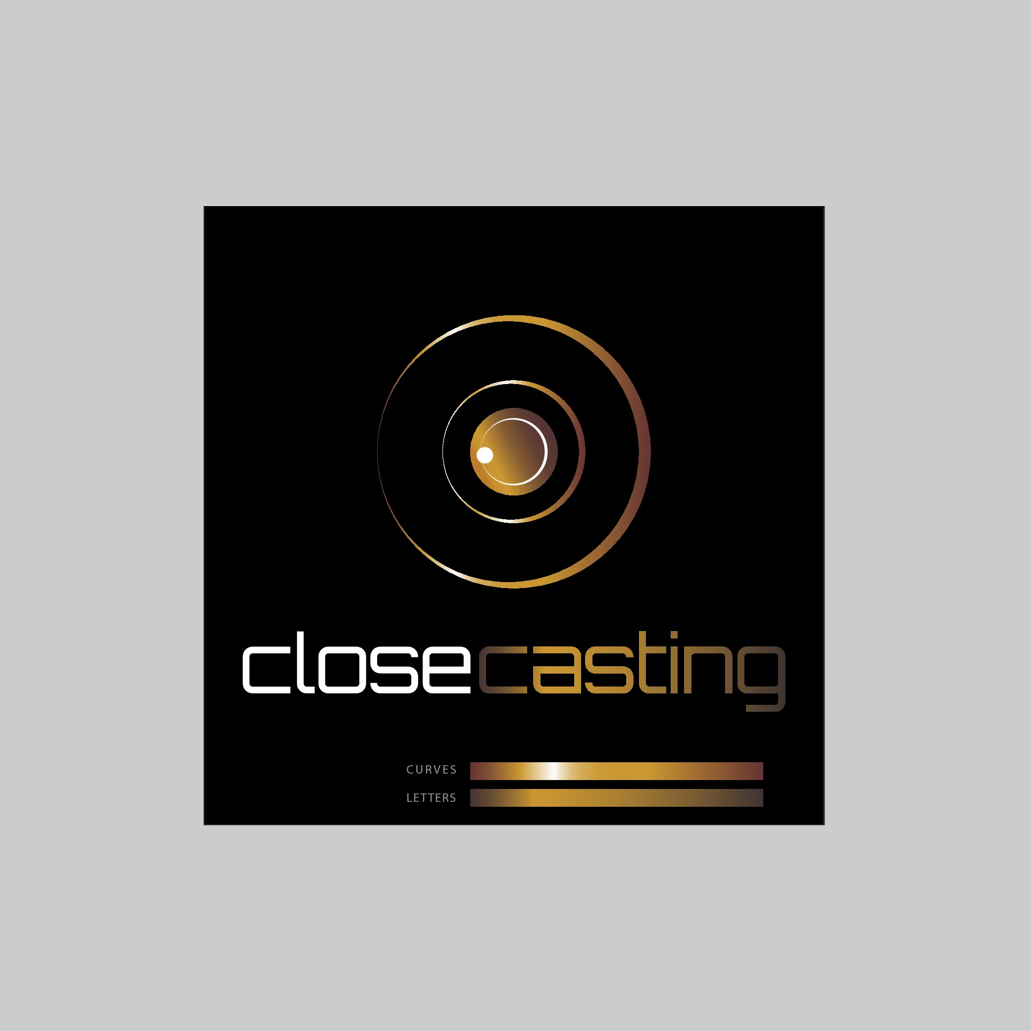 "Create a logo for the ""Close Casting"" brand"